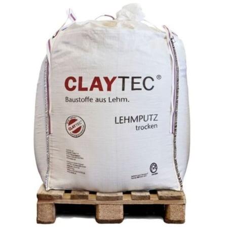 Claytec Bigbag Basis leemstuc Droog